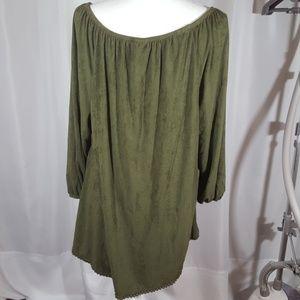 Avenue Tops - 3/$20 Avenue suede like blouse